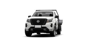 2021 Nissan Navara D23 Single Cab SL Cab Chassis 4x2 Solid White 6 Speed Manual.