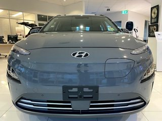 2021 Hyundai Kona Os.v4 MY21 electric Highlander Galactic Grey 1 Speed Reduction Gear Wagon.