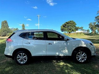 2015 Nissan X-Trail T32 ST X-tronic 2WD Ivory Pearl 7 Speed Constant Variable Wagon.