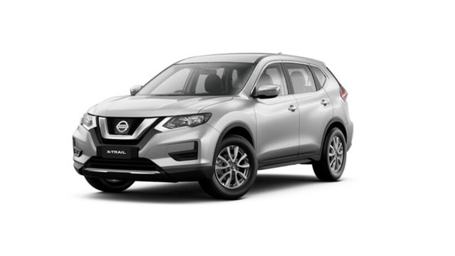 New Nissan X-Trail T32 MY21 ST X-tronic 4WD Cardiff, 2021 Nissan X-Trail T32 MY21 ST X-tronic 4WD Brilliant Silver 7 Speed Constant Variable Wagon