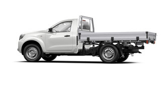 2021 Nissan Navara D23 Single Cab SL Cab Chassis 4x2 Solid White 6 Speed Manual