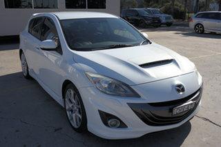 2012 Mazda 3 BL1032 MPS White 6 Speed Manual Hatchback.