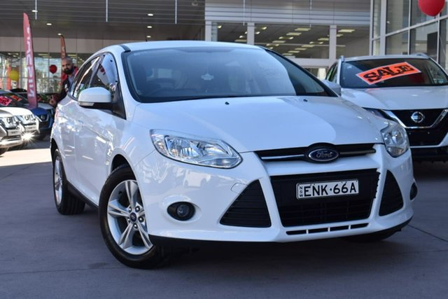 Used Ford Focus LW MkII Trend Blacktown, 2013 Ford Focus LW MkII Trend White 5 Speed Manual Hatchback