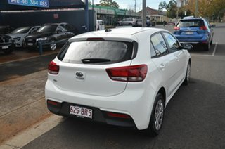 2018 Kia Rio YB MY19 S White 4 Speed Automatic Hatchback.