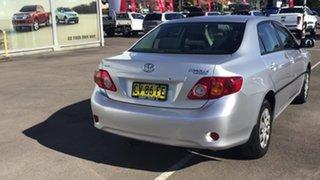 2008 Toyota Corolla ZRE152R Ascent Silver 6 Speed Manual Sedan.