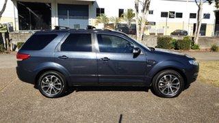 2011 Ford Territory SZ Titanium (4x4) Grey 6 Speed Automatic Wagon.
