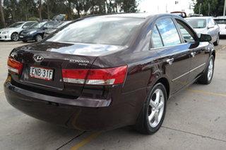2005 Hyundai Sonata NF Elite Red 4 Speed Automatic Sedan