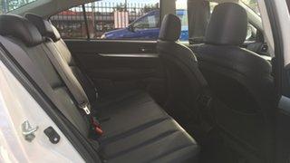 2012 Subaru Liberty B5 MY12 2.5i Lineartronic AWD White 6 Speed Constant Variable Sedan