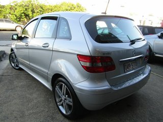 2011 Mercedes-Benz B-Class W245 MY11 B180 Silver 1 Speed Constant Variable Hatchback.