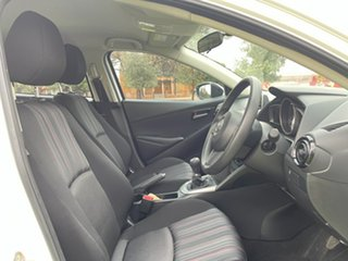 2016 Mazda 2 DL2SA6 Neo SKYACTIV-MT White 6 Speed Manual Sedan