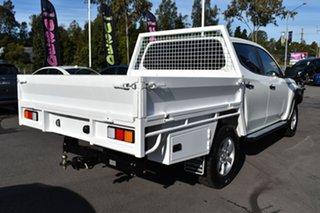 2018 Mitsubishi Triton MQ MY18 GLX+ Double Cab White 6 Speed Manual Utility.