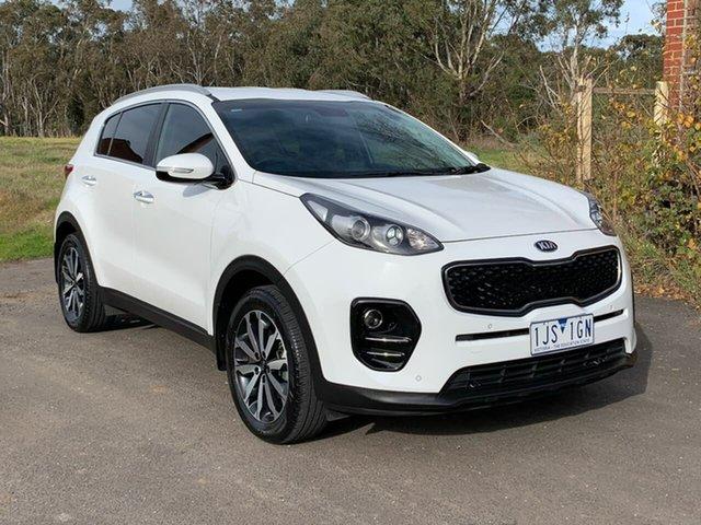 Used Kia Sportage QL SLi Geelong, 2017 Kia Sportage QL SLi White Sports Automatic Wagon