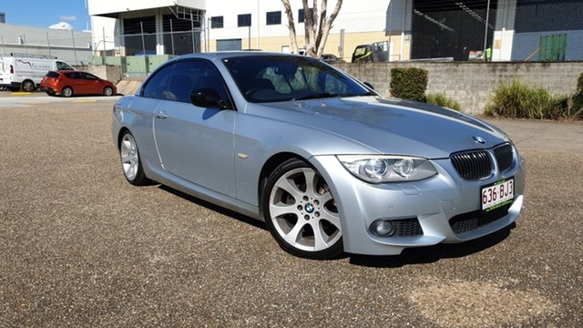 Used BMW 320d E93 MY12 Underwood, 2012 BMW 320d E93 MY12 Silver 6 Speed Auto Steptronic Convertible