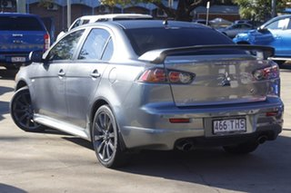 2013 Mitsubishi Lancer CJ MY13 Ralliart TC-SST Grey 6 Speed Sports Automatic Dual Clutch Sedan.
