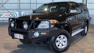 2008 Toyota Hilux GGN25R MY08 SR5 Black 5 Speed Manual Utility.