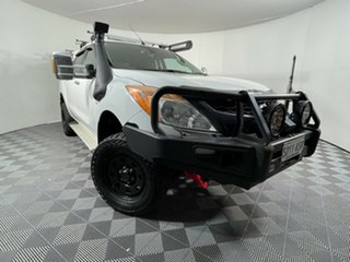 2012 Mazda BT-50 UP0YF1 GT Cool White 6 Speed Sports Automatic Utility.