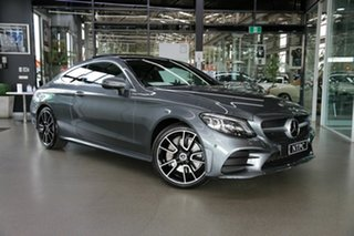 2018 Mercedes-Benz C-Class C205 809MY C300 9G-Tronic Grey 9 Speed Sports Automatic Coupe.