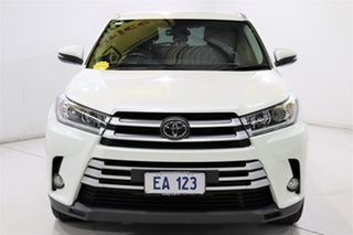 2018 Toyota Kluger GSU55R GXL (4x4) White 8 Speed Automatic Wagon.