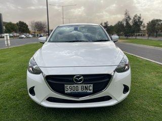 2016 Mazda 2 DL2SA6 Neo SKYACTIV-MT White 6 Speed Manual Sedan.