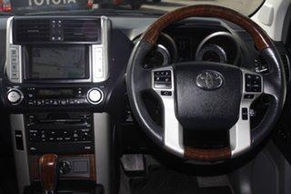 2009 Toyota Landcruiser Prado GRJ150R Kakadu Silver 5 Speed Sports Automatic Wagon