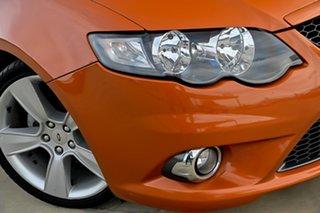 2011 Ford Falcon FG XR6 Ute Super Cab Limited Orange 6 Speed Automatic Utility.