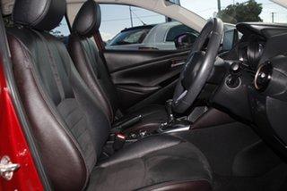 2017 Mazda 2 DL2SA6 GT SKYACTIV-MT Red 6 Speed Manual Sedan