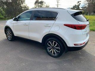 2017 Kia Sportage QL SLi White Sports Automatic Wagon.