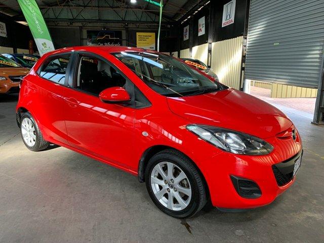 Used Mazda 2 DE10Y2 MY14 Neo Sport Hampstead Gardens, 2013 Mazda 2 DE10Y2 MY14 Neo Sport Red 4 Speed Automatic Hatchback