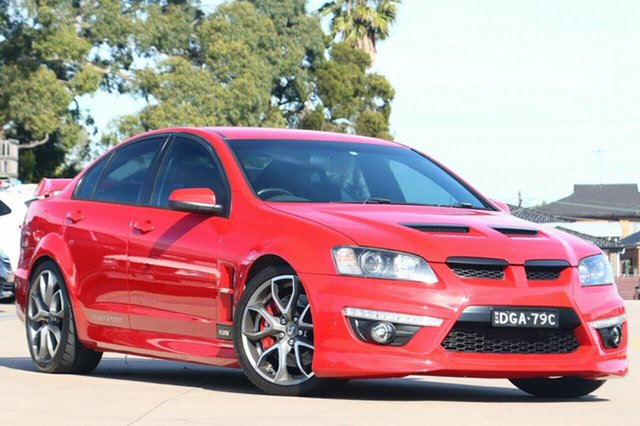 Used Holden Special Vehicles ClubSport E Series R8 Chullora, 2008 Holden Special Vehicles ClubSport E Series R8 Red 6 Speed Sports Automatic Sedan