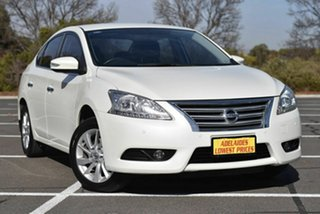 2015 Nissan Pulsar B17 Series 2 ST-L White 1 Speed Constant Variable Sedan.