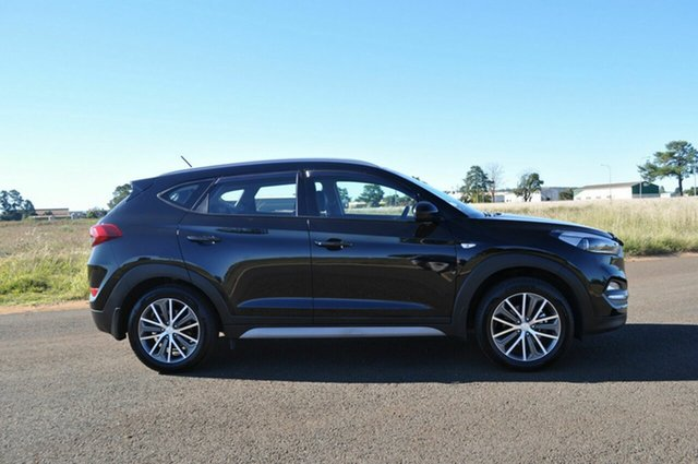 Used Hyundai Tucson TL Active X (FWD) Kingaroy, 2017 Hyundai Tucson TL Active X (FWD) Black 6 Speed Automatic Wagon