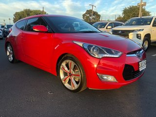 2014 Hyundai Veloster FS3 + Coupe D-CT Red 6 Speed Sports Automatic Dual Clutch Hatchback.