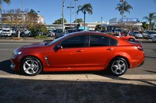 2015 Holden Commodore VF MY15 SV6 Orange 6 Speed Automatic Sedan