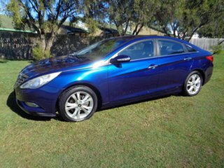 2010 Hyundai i45 YF MY11 Elite Blue 6 Speed Sports Automatic Sedan.