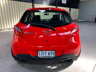 2013 Mazda 2 DE10Y2 MY14 Neo Sport Red 4 Speed Automatic Hatchback