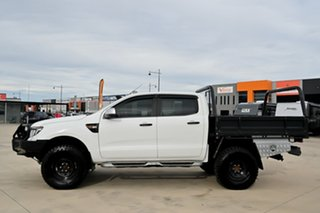 2013 Ford Ranger PX XLS Double Cab White 6 Speed Manual Utility