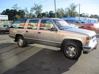 1998 Holden Suburban K8 1500 LS (4x4) Gold 4 Speed Automatic 4x4 Wagon.