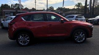 2018 Mazda CX-5 KF4WLA Akera SKYACTIV-Drive i-ACTIV AWD Red 6 Speed Sports Automatic Wagon