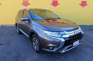 2018 Mitsubishi Outlander ZL MY19 LS 2WD Brown 6 Speed Constant Variable Wagon.