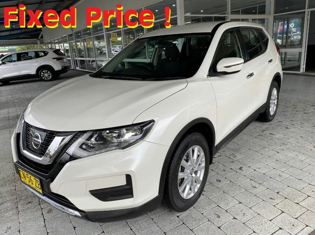 Used Nissan X-Trail ST Taree, 2017 Nissan X-Trail ST Ivory Pearl Constant Variable Wagon