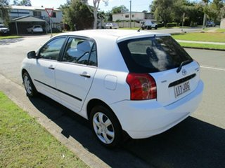2006 Toyota Corolla ZZE122R 5Y Ascent White 4 Speed Automatic Hatchback