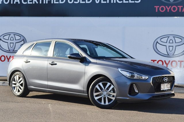 Pre-Owned Hyundai i30 PD2 Update Active Warwick, 2018 Hyundai i30 PD2 Update Active Grey 6 Speed Auto Sequential Hatchback