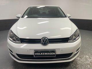 2016 Volkswagen Golf VII MY17 92TSI Trendline White 6 Speed Manual Hatchback.