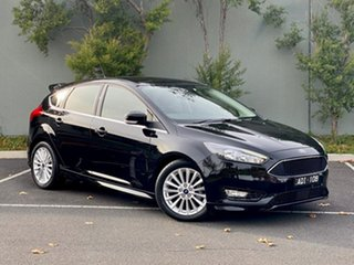 2017 Ford Focus LZ Sport Black 6 Speed Automatic Hatchback.