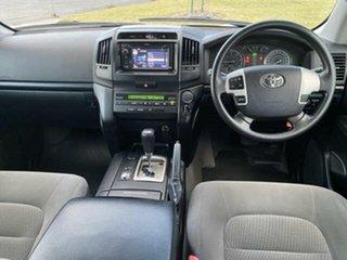 2012 Toyota Landcruiser VDJ200R MY12 GX (4x4) Glacier White 6 Speed Automatic Wagon