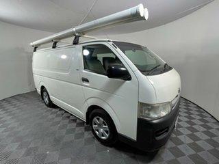 2009 Toyota HiAce TRH201R MY08 LWB White 5 Speed Manual Van