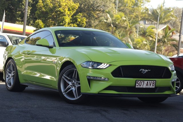 Used Ford Mustang FN 2020MY GT Newstead, 2020 Ford Mustang FN 2020MY GT Green 10 Speed Sports Automatic Fastback