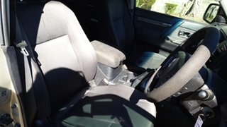 2012 Mitsubishi Pajero NW MY12 GLS LWB (4x4) Gold 5 Speed Auto Sports Mode Wagon