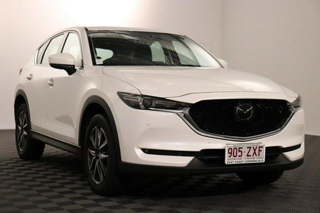 Used Mazda CX-5 KF4WLA GT SKYACTIV-Drive i-ACTIV AWD Acacia Ridge, 2019 Mazda CX-5 KF4WLA GT SKYACTIV-Drive i-ACTIV AWD White 6 speed Automatic Wagon