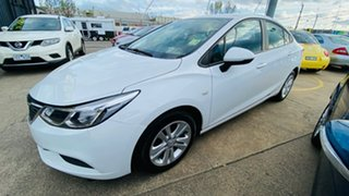 2018 Holden Astra BL MY18 LS White 6 Speed Sports Automatic Sedan